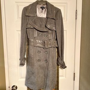 Gray Bebe Pea Coat